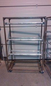 Metalen meatrack